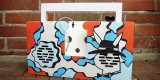 Custom Berlin Boombox by Graffiti Artist Stok La Rock