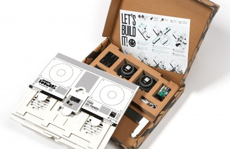The Berlin Boombox comes as a flat packed DIY Kit