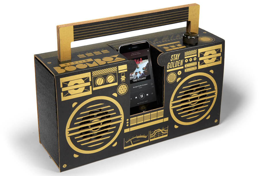 berlin boombox black and gold berlin boombox