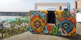 Custom Berlin Boombox by Graffiti Artist Opium
