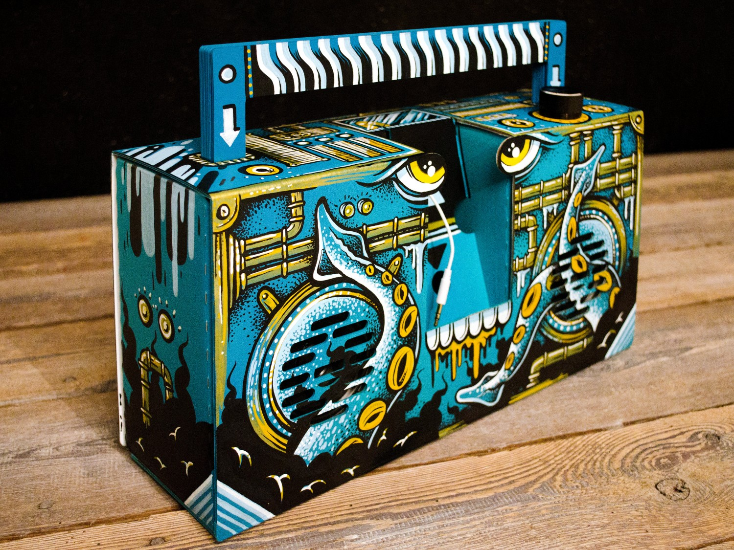 Mike Friedrich custom Berlin Booombox