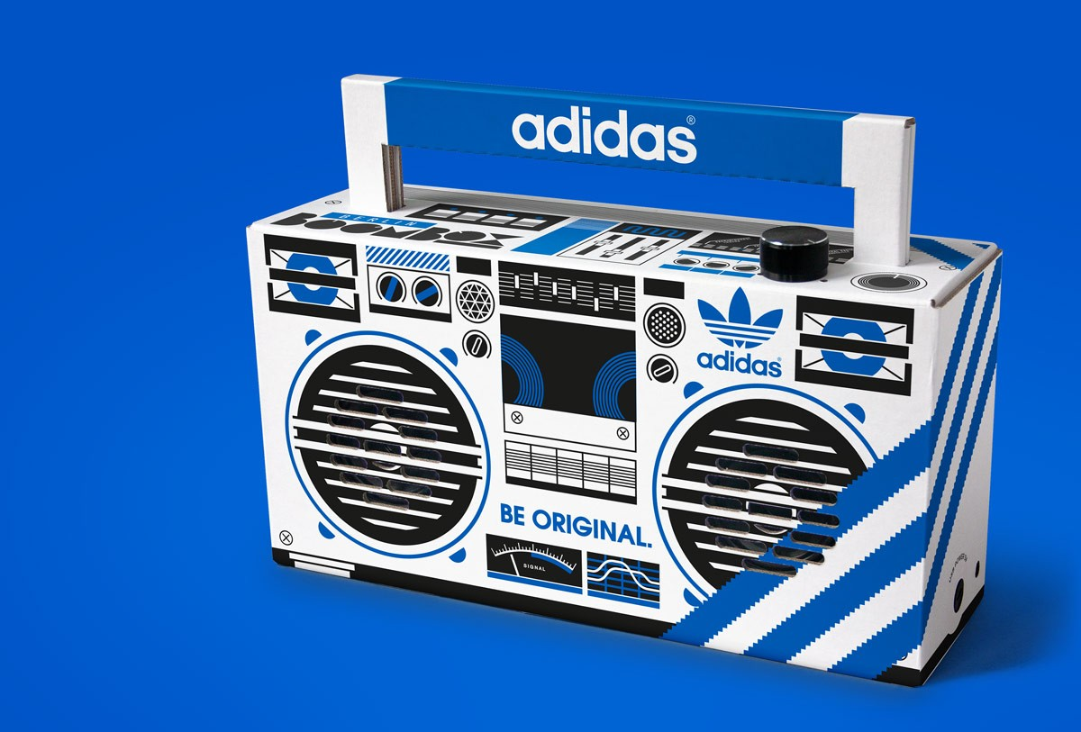 Berlin Boombox for Adidas