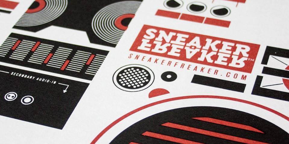 Sneaker Freaker Boombox
