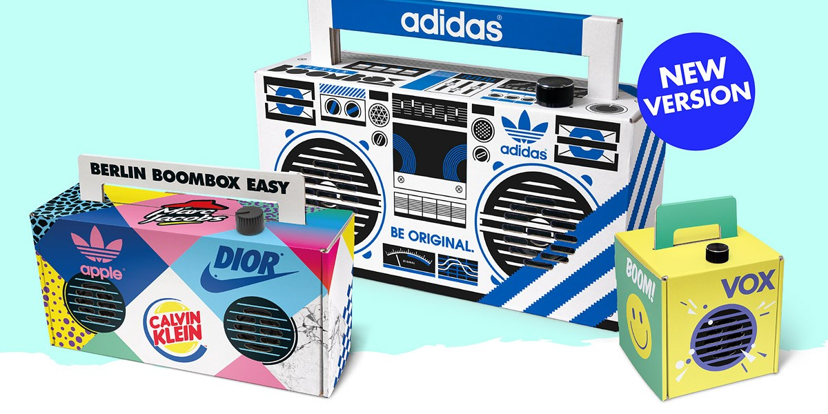 customized boombox designs