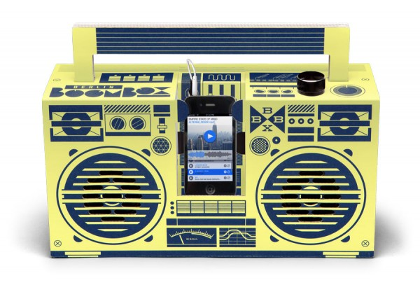 Berlin Boombox Lemon