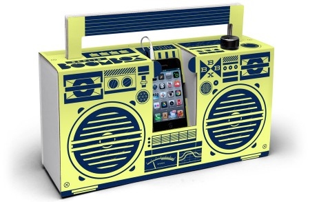 Berlin Boombox Lemon Yellow