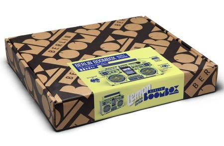 Berlin Boombox Lemon Yellow